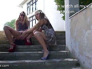 خروس بزرگ آبنوس یک دختر کانال فول سکسی شلخته را پوند می دهد